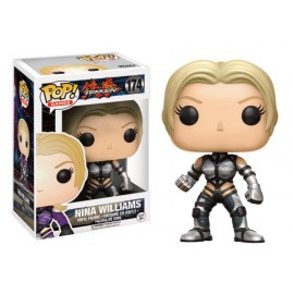 Games 174 POP - Tekken - Nina Williams Silver Suit LIMITED