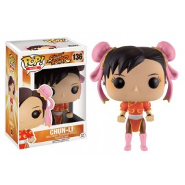 Games 136 POP - Street Fighter - Chun-Li Red Outfit LIMITED