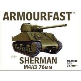 Sherman M4a3 76mm 1:72
