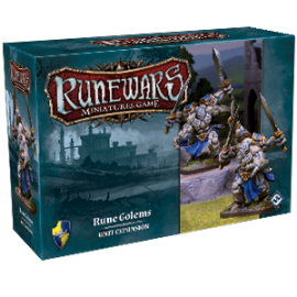 Runewars Miniatures Games: Rune Golems Expansion Pack