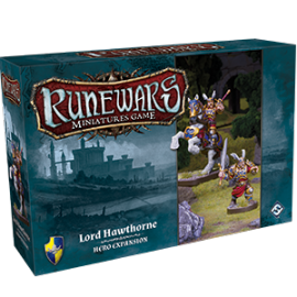 Runewars Miniatures Games: Lord Hawthorne Hero Expansion Pack