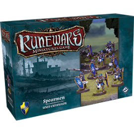 Runewars Miniatures Games: Spearmen Expansion Pack
