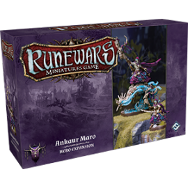 Runewars Miniatures Games: Ankaur Maro Hero Expansion