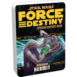 Star Wars Force and Destiny Hermit Specialization Deck