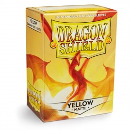 Dragon Shield Matte - Yellow (10x100)