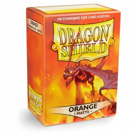 Dragon Shield Matte - Orange (10x100)
