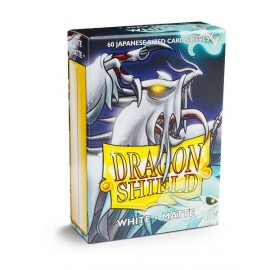 Dragon Shield - Matte Japanese Sleeves- White (60)