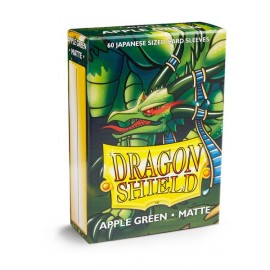 Dragon Shield - Matte Japanese Sleeves- Apple Green (60)