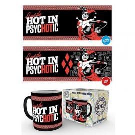 DC - Harley Quinn Psychotic - Heat Change Mug