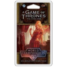 A Game of Thrones LCG: 2016 World Championship Joust Deck
