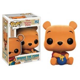 Disney 252 POP - Winnie The Pooh - Flocked Seated Pooh LTD