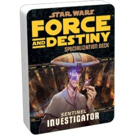 Star Wars Force and Destiny: Investigator Specialization Deck