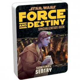 Star Wars Force and Destiny: Sentry Specialization Deck