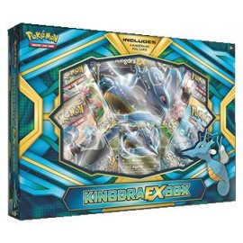 Pokémon Kingdra Ex box Eng