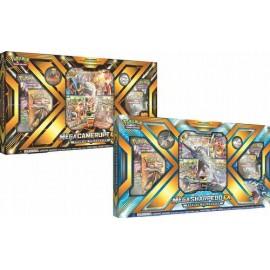 Pokémon Mega Camerupt Ex Sharpdedo ex box Eng