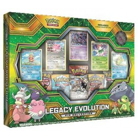 Pokémon Legacy Evolution Pin collection