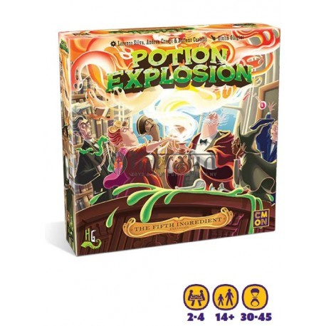 The fifth Ingredient: Potion Explosion
