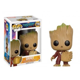 Marvel 208 POP - Guardians of the Galaxy 2 - Young Groot with Shield - LIMITED