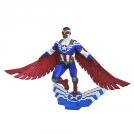 Marvel - Gallery - Captain America - Sam Wilson PVC Figure
