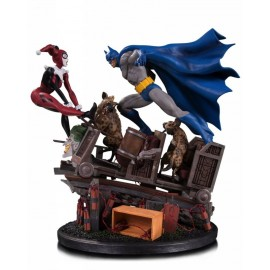 DC - Batman vs Harley Quinn Battle Figure
