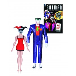 DC - Batman Animated Series - Mad Love Joker & Harley Quinn 2-pack (15cm)