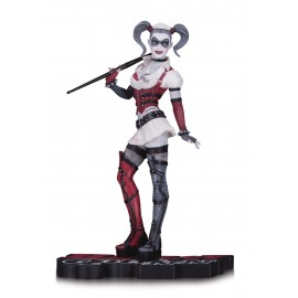 DC - Batman - Harley Quinn Red, White & Black Arkham Statue