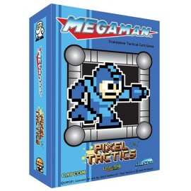 Pixel Tactics: Meg Man Blue box