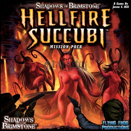 Shadows of Brimstone: Hellfire Succubi- Mission Pack