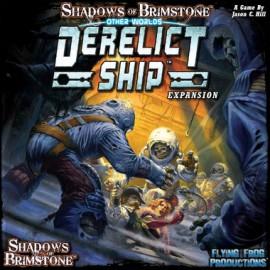Shadows of Brimstone Derelict Ship- Otherworld Expansion