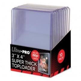 """Toploader 3""""x4"""" Super Thick (260pt)"""