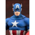 Marvel - Captain America Pre-Painted PVC Easy to Assemble