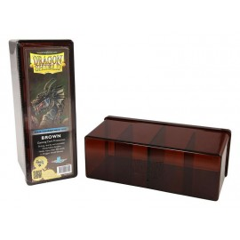 Dragon Shield Storage Box w. Four Comp Brown
