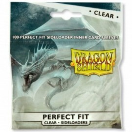 Dragon Shield - Perfect Fit SIDELOADERS Clear (100ct in bag/15 bags)