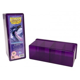 Dragon Shield Storage Box w. Four Comp Purple