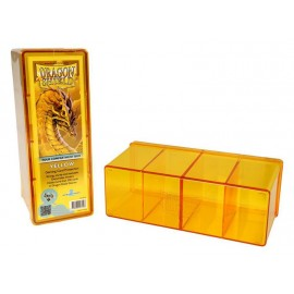 Dragon Shield Storage Box w. Four Comp Yellow