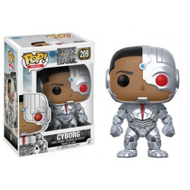 Heroes 209 POP - Justice League Movie - Cyborg
