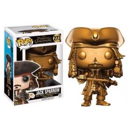 Movies 273 POP - Pirates o/t Caribbean - Jack Sparrow Gold LTD