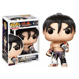 Games 201 POP - Tekken - Jin Kazama Black & White Suit LIMITED