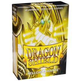 Dragon Shield - Matte Japanese Sleeves- Yellow (60)