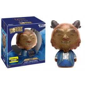 DORBZ 267 - Disney - Beauty and the Beast Live Action - Flocked Beast LIMITED