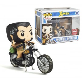 Rides Marvel 26 POP - Wolverine with Motorcycle LIMITED