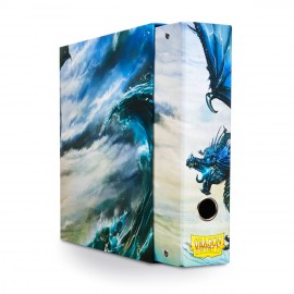 Dragon Shield Slipcase Binder Blue art Dragon