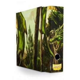 Dragon Shield Slipcase Binder Green art Dragon