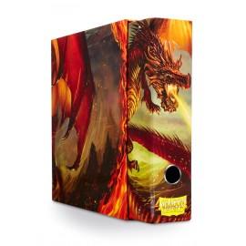Dragon Shield Slipcase Binder Red art Dragon