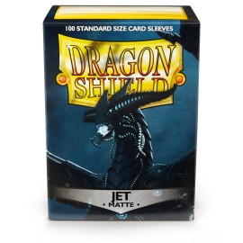 Dragon Shield Matte - Jet (10x100)