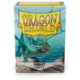 Dragon Shield Matte - Mint (10x100)