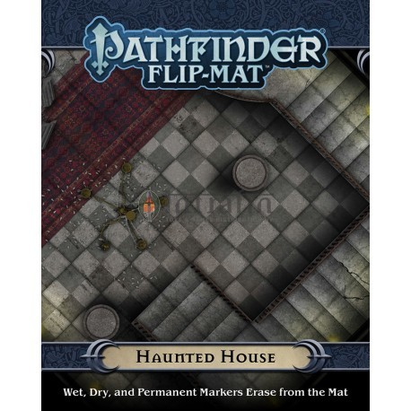 Pathfinder Flip-Mat: Haunted House