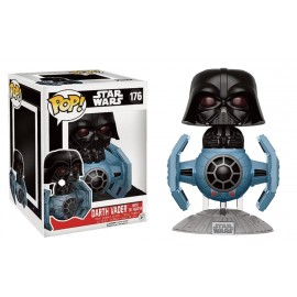 Star Wars 176 POP - Darth Vader with Tie Fighter LIMITED DELUXE
