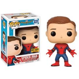 Marvel 221 POP - Spider-Man Homecoming - Unmasked Spider-Man EXCLUSIVE (no sticker)
