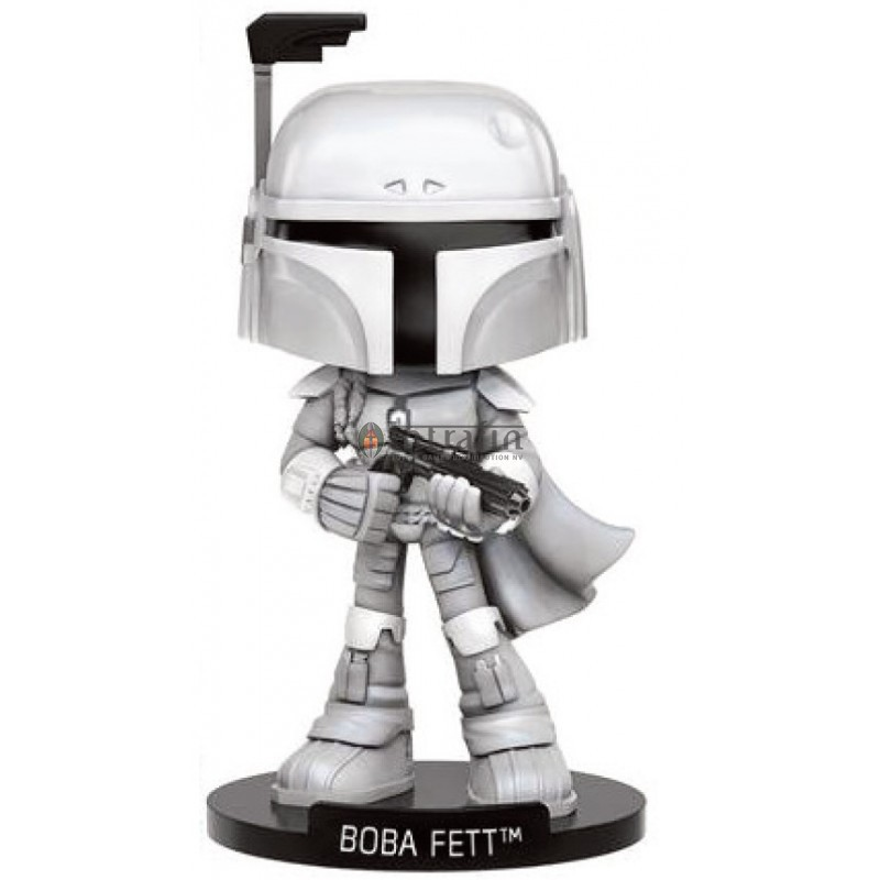 Star Wars - Wobblers - Boba Fett - Prototype Version EXCLUSIVE (no sticker)